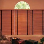 2.5 inch wooden blinds provide premium light control for residential and commercial spaces.