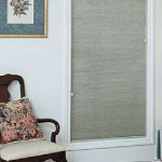 Specialty Drapery offers Honeycomb cellular shades for tall windows and glass doors in Richmond Virginia.