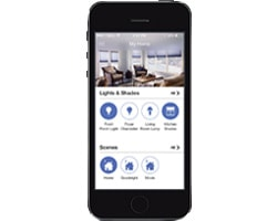 The Lutron App allows you to control lighting around your home or office on the go.