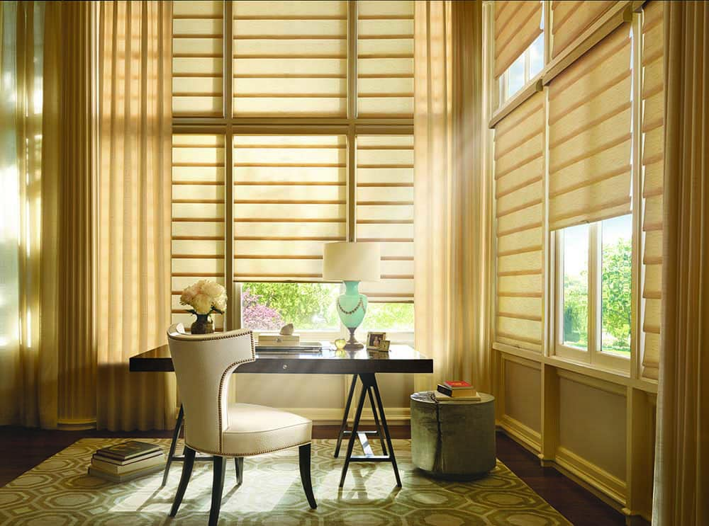 Specialty Drapery offers handcrafted, custom blinds of all sorts.